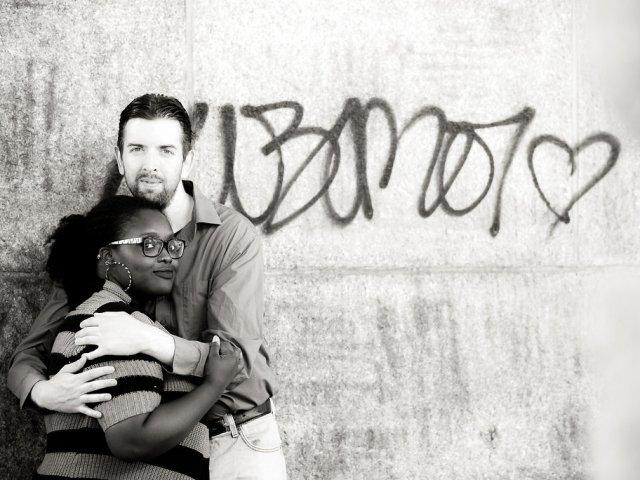 Interracial Marriage Metsha & Chris - New York, United States