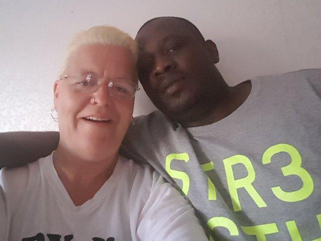 Interracial Couple Ulrika & Maurice - Yaounde, Centre, Cameroon