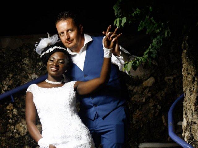 Interracial Marriage Shekina Agnes & Robert Macfarlane - Doncaster, England, United Kingdom